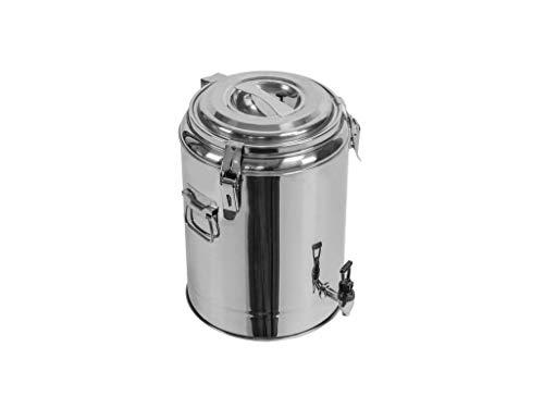 Profi Gastro Edelstahl Thermotransportbehälter mit Ablaufhahn & Druckausgleichsventil von 10-50 Liter auswählbar (30x40 cm 13 Liter)