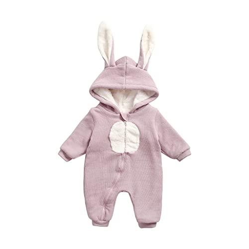 UMore Bebé Ropa Mameluco Niños Niñas Pelele Pijama de Primavera y otoño Franela Traje de Animales