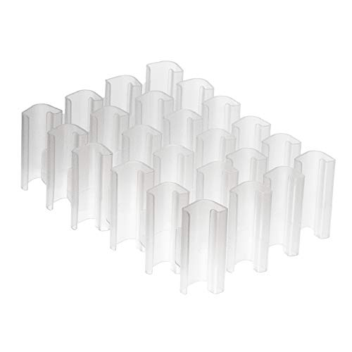 Ikea SAMLA - Clip in plastica trasparente per scatole da...