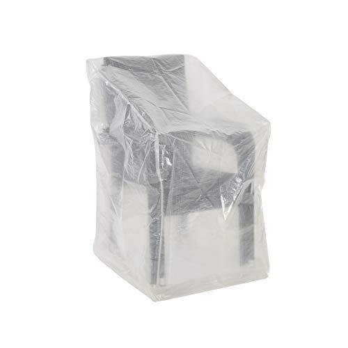 Greemotion beschermhoes voor stoelen of relaxstoelen, waterafstotend met ogen, transparant, ca. 63 x 66 x 117 cm.