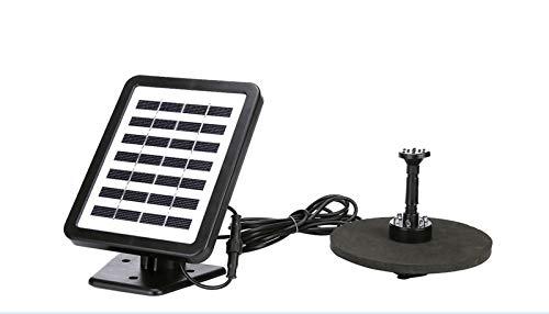 ERT Alimentado por Energía Solar De La Bomba De Agua Fuente De La Boquilla 8 Piezas For El Kit De Panel Solar del Baño del Pájaro Jardín Al Aire Libre 1.2W 190L / H