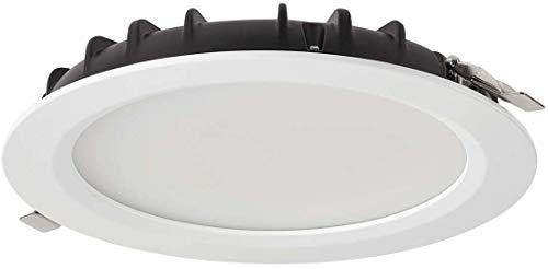 Plafón LED de techo empotrable THEA de Collingwood – Downlight LED redondo IP54 - Plug & Play – Foco LED para baño, cocina o salón - 3 temperaturas de color - 32W [clase de eficiencia energética A+]