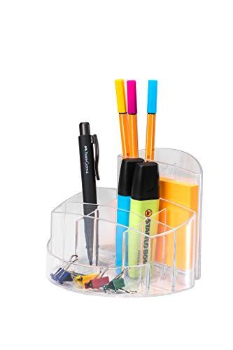 HAN 17460-23, Porta-utensili da tavolo RONDO, cristallo chiaro
