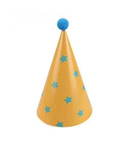 [Étoiles] Fournitures 7Pcs D'anniversaire D'enfants Hat Party Party Hat