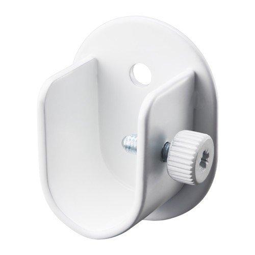 Ikea RÄCKA Wandbeschlag für Gardinenstange; in weiß