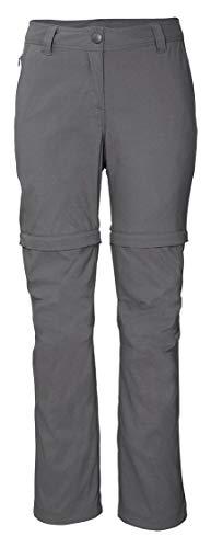 Crivit Damen Trekkinghose Wanderhose Outdoorhose Freizeithose Berghose (44, grau)