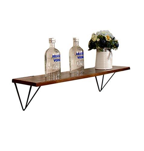 LH-Étagère à cadre Étagère murale étagère murale en bois en bois pour salon bar | Etagère murale en forme de cube pour support de rangement pour étagère de décoration de chambre à coucher