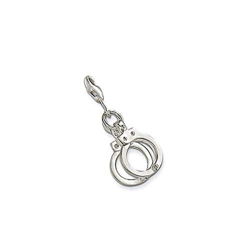 AKKi jewelry Glitzer Charm hänger mit karabina Verschluss Swarovski Kristalle Kugel Anhänger Silber Bettelarmbander Armband Kette