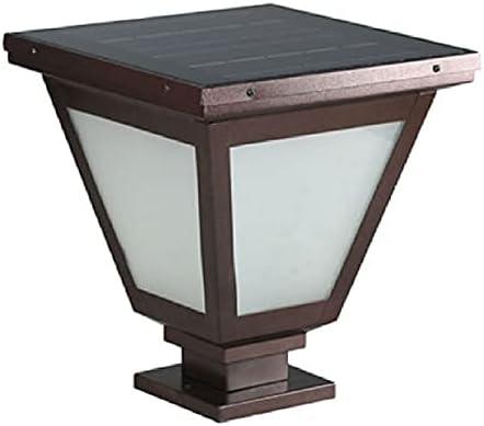 Luxury goods HSCW IP644 Garden Lights Lighting Solar Lamp Many popular brands Fixture Pole Pillar