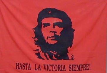 Große 2.44 meters x 1.52 meters Che Guevara Kuba revolutionär Polyester Flagge