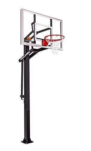 goaliath basketball hoops Goalrilla GS54 In Ground Basketball Hoop with Adjustable Height Backboard and Pro-Style, Breakaway Rim