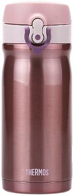 サーモス 水筒 真空断熱ケータイマグ 【ワンタッチオープンタイプ】 0.35L ピンク JMY-351 P