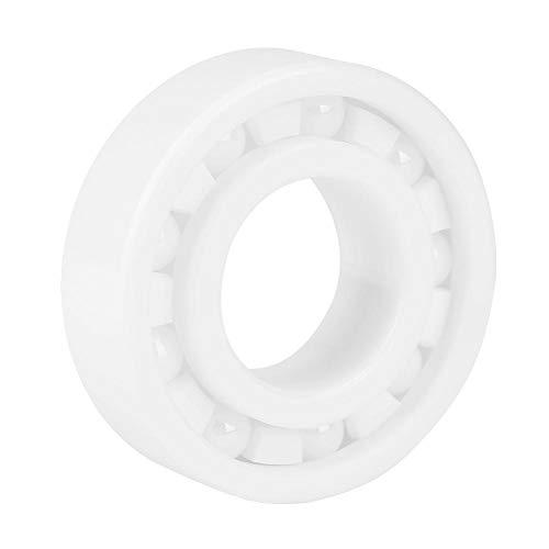 Keramisch kogellager, 1 STUK 6205 25x52x15 mm wit Zeer nauwkeurig volledig keramisch ZrO2-kogellager