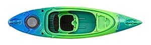 "Perception Kayaks Flash 9.5 | Sit Inside Kayak for Fishing and Fun | Two Rod Holders | Multi-Function Dash | 9' 6"" | Earth (9331900190)"
