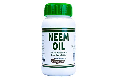 Viagrow 100% Cold Pressed Neem Seed Oil for Plants (8oz Makes 12 Gallons), OMRI Listed