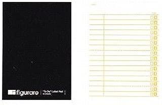 アピカ フィグラーレ 付箋式リストメモ 120×85 チェックリスト 黒 ME510K / 10セット