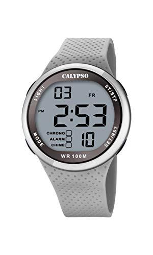 Calypso Quarz Uhr mit Kunststoff Armband K5785/1
