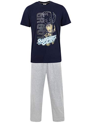 Marvel Pijama para Hombre Guardianes de la Galaxia Multicolor XX-Large