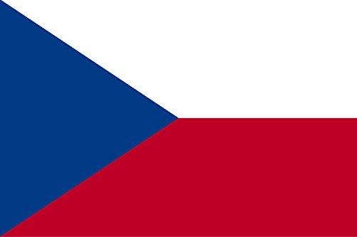 Gran Bandera de Republica Checa 150 x 90 cm Satén Durobol Flag