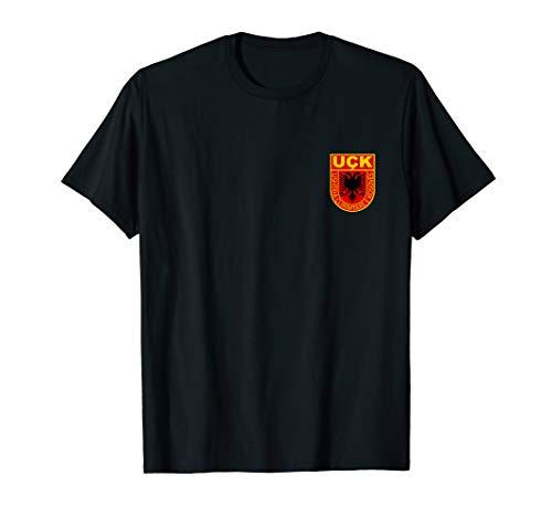 kosovarische Armee shirt logo Wappen albaner kosovo uqk uck T-Shirt