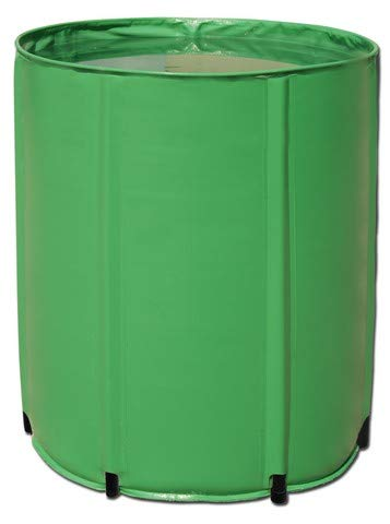 Aquaking Faltbares Wasserfass 500L PVC, Flex Tank, Nährstofftank, Regentonne, Regenfass, Wassertonne