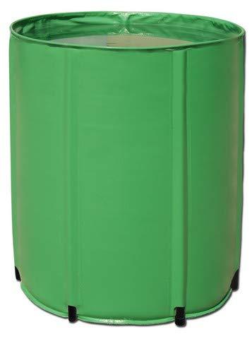 Aquaking Barril plegable de 500 litros de PVC, depósito flexible, depósito de nutrientes, barril de lluvia