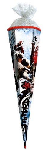 alles-meine.de GmbH Skater Sport Skateboard Junge Boy Schultüte Zuckertüte 85cm Silbertüllverschluß