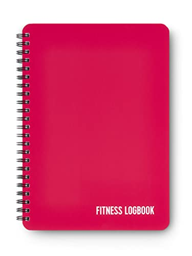 Fitness Logbuch Softcover Berry