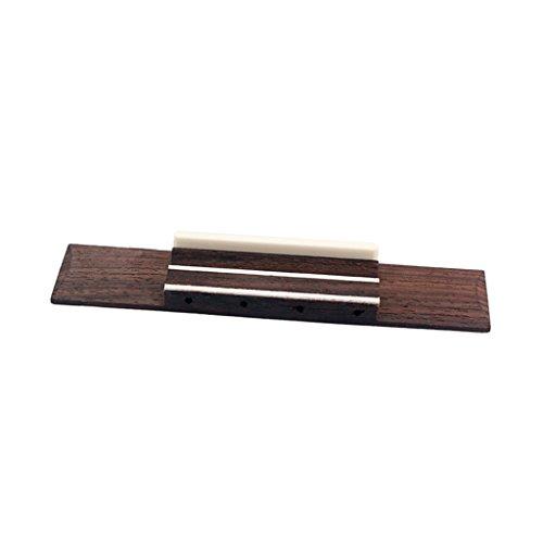 4 Cuerdas Mini Ukelele Puente de Guitarra con Hueso Artificial Silla de Monta DIY