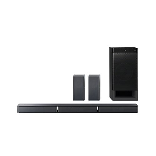 Sony HT-RT3 - Sistema Home Cinema 5.1 Soundbar + Subwoofer + 2 Speaker posteriori, USB, NFC, Bluetooth, ClearAudio+, 600W, Nero