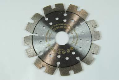 Dia-Trennscheibe HARTBRANDKLINKER (115 mm)