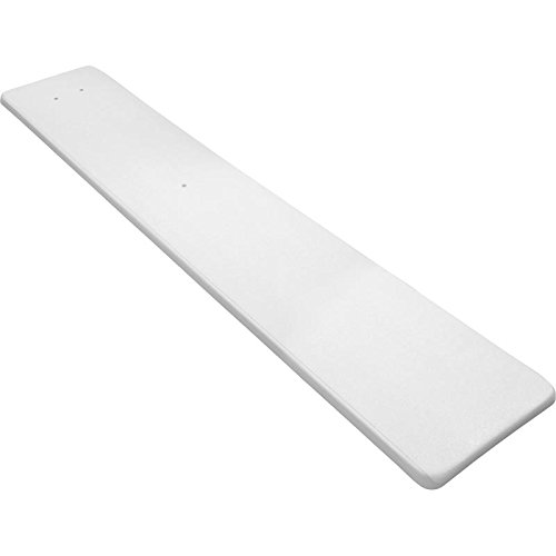 Inter-Fab DS8WW Diving Board Replacement for In-Ground Pools, Duro-Spring, White