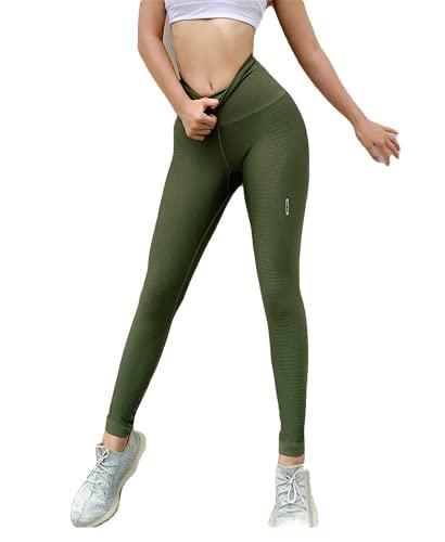 MNBGHJ Leggings de Yoga, Mallas Deportivas para Mujer, Mallas Deportivas para Mujer, Ropa de Gimnasio para Mujeres, Pantalones de Yoga, Pantalones para Correr, Jogging