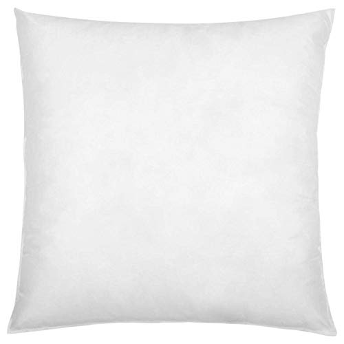 IZO All Supply Square Sham Stuffer Hypo-Allergenic Poly Pillow Form Insert Throw Pillow, 16' L x 16' W