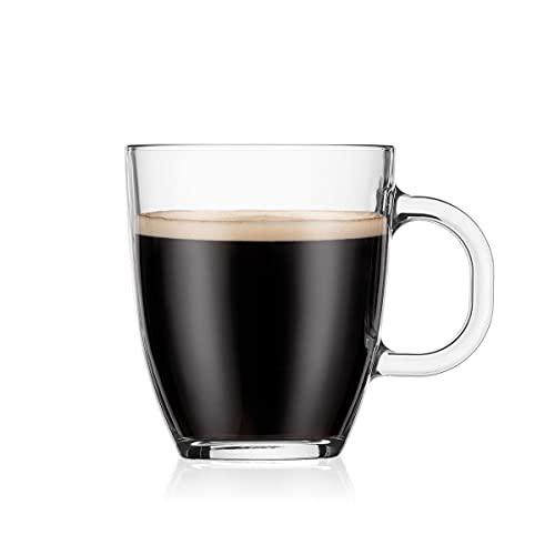 Bodum Bistro - Mug avec Anse - en Verre Trempé - 35 cl