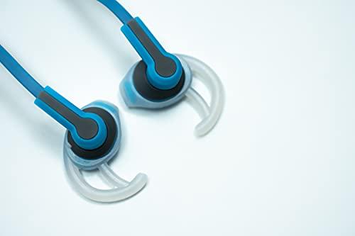 Daewoo DIBT7072 Drahtloser Sportkopfhörer   Bluetooth 5.0   Wiederaufladbarer Li-Ion-Akku   Freisprecheinrichtung   20Hz-20kHz (Blau)
