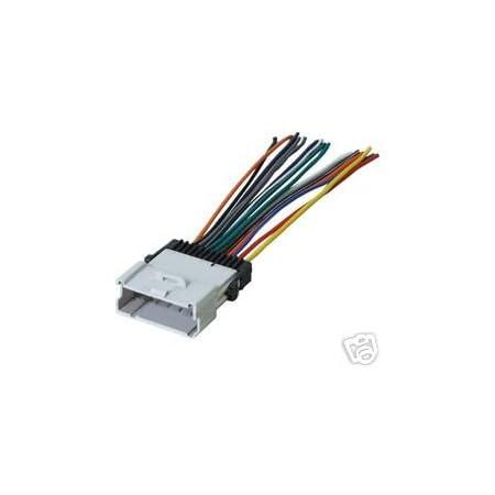 Amazon Com Stereo Wire Harness Saturn Sc Sl Sw Ls 00 01 02 03 Car Radio Wiring Installa Car Electronics