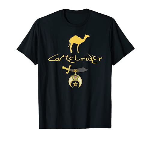 Camel rider Shriner Masonic Symbol Freemason T-shirt