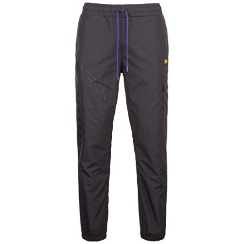 New Era Pantaloni NBA Vertical Wordmark Los Angeles Lakers Nero L (Large)