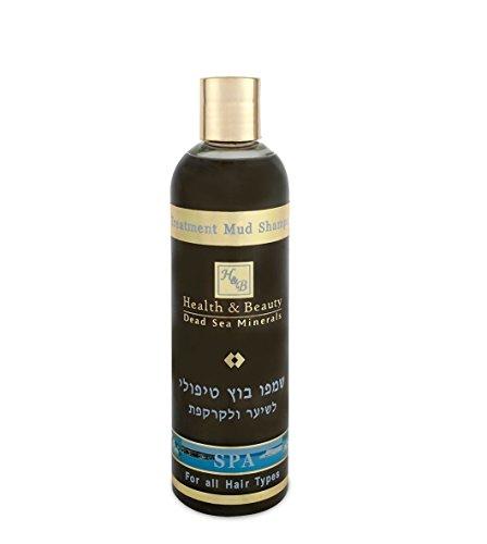 Therapeutic Black Mud Treatment Hair Shampoo 400ml by Health & Beauty Dead Sea Minerals