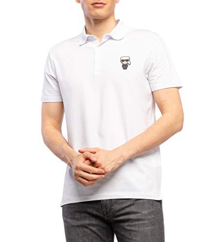 Karl Lagerfeld Herren Poloshirt karlito Bianco S
