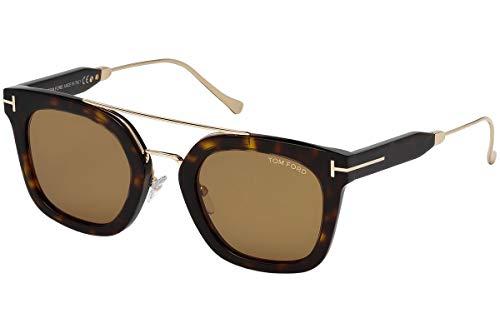 Tom Ford FT0541 52E 51 Monturas de gafas, Marrón (Avana ScuraMarrone), 51.0 Unisex Adulto