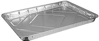 Paquete de 3 moldes desechables de aluminio extra grandes de 33 x 44 cm, ideales para hornear, asar, cocinar y almacenar alimentos y más