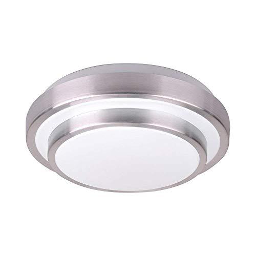 QVQV - Lámpara de techo redonda LED de 13 pulgadas, 18 W, 1800 lm, 150 W, equivalentes a bombillas incandescentes, 3 temperaturas de color en una (3000 K, 4000 K, 6500 K) Lámpara de techo para cocina, dormitorio, sala de estar, pasillo