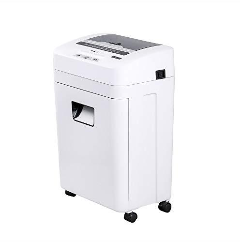 Jtoony Destructora de Papel De Gran Capacidad de Papel de alimentación automática Shredder 75 Hojas silencioso de Alta Potencia de desguace for Oficina y el hogar Uso Trituradora de Papel