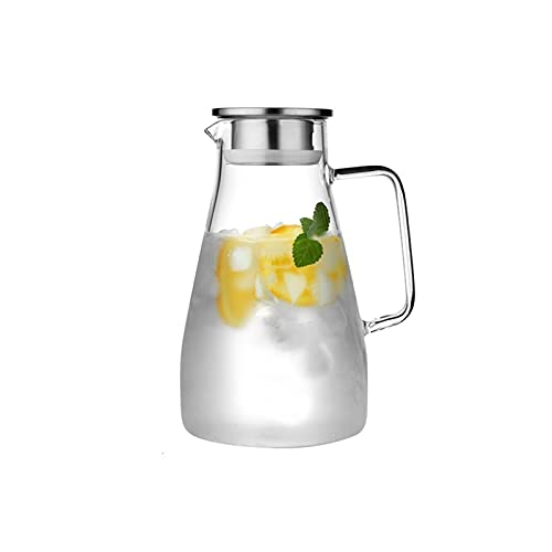 Tea Kettle Best Household Cold Water Bottle Glass Summer Heat Resistant High Temperature Cup Soak Teapot Large Capacity 2L