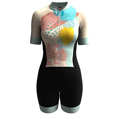 Triathlon Skinsuit Jumpsuit d'été Femmes Cyclisme...