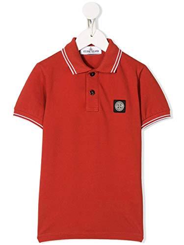 Stone Island Luxury Fashion Junge 721621348V0036 Rot Baumwolle Poloshirt | Frühling Sommer 20