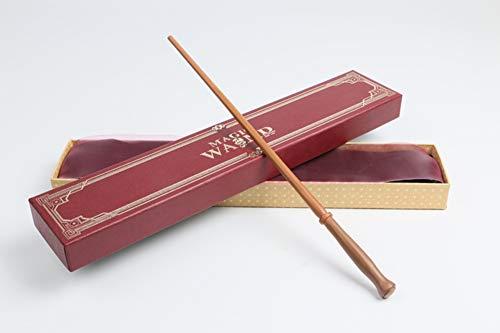 WFXZT Harry Potter Zauberstab - Molly Weasley Stab,Zauberer Realize Träume für Ihre Kinder,Jungen und Mädchen Geburtstagsgeschenk Stab,Exquisite Geschenkbox mit rotem Band
