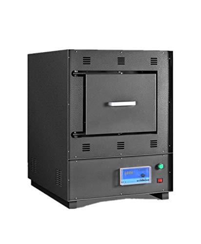 Horno de mufla MXBAOHENG Horno de sinterización eléctrica digital Horno Thermolyne pequeño horno de alta temperatura (SK2-5-12)